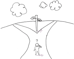Sketch of cross roads